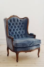 Leather Wing Back Chairs Chairs Blue Wingback Chair Leather Vintage Lily Bramwell High