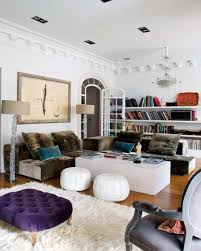 Boho Chic Living Room Ideas by Boho Chic Living Room With Contemporary Design Ideas And Purple