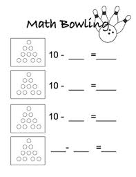 subtraction bowling score card by sydney hulbert tpt