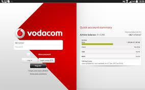 vodacom airtime my vodacom app for tablets 1mobile com