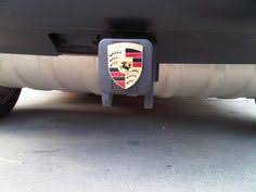 porsche cayenne trailer hitch trailer hitch cover porsche cayenne