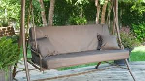 brilliant wooden porch swing and teak wood material with natural