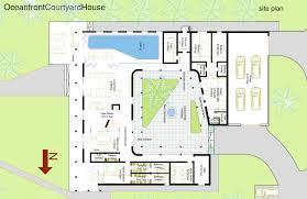 courtyard house plan naples architect weber design group loversiq