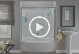 Bathroom Shower Doors Home Depot Buying Guide Shower Kits At The Home Depot