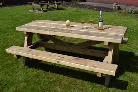 this old house picnic table bench standard picnic table dimensions 5 foot picnic table plans