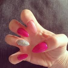 best 25 almond nails pink ideas on pinterest almond shape nails