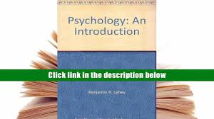 free download psychology an introduction benjamin b lahey for