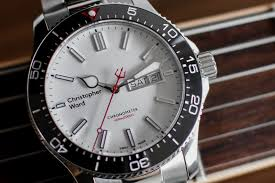 christopher ward c60 trident day date cosc review ablogtowatch