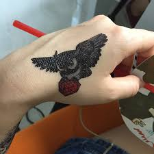 eagle tattoo on finger cool eagle tattoo for men women waterproof temporary tattoos water