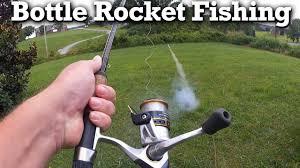 Soda Bottle Monsters Totally Green - bottle rocket fishing rod challenge fishing with bottle rockets