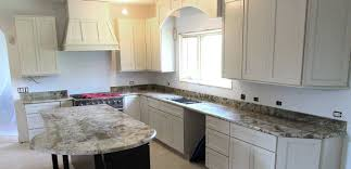 granite countertop unfinished wood kitchen cabinet doors fasade
