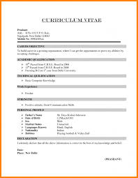 Best Resume Format 2017 by Chronological Resume Examples 2017 Curriculum Vitae Word Formats