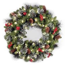 artificial christmas wreaths decorated doliquid
