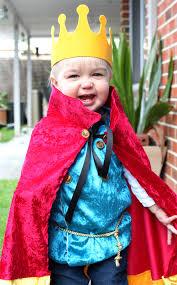 royal prince king costume halloween dress up boy