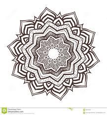 vector mandala ornament stock vector image of flower 59305328