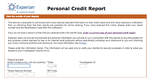 experian credit bureau i disputed my experian credit report and the experience wasn t so