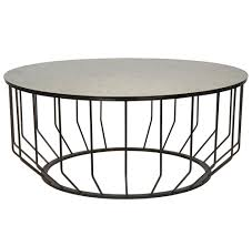 round industrial coffee table timconverse com