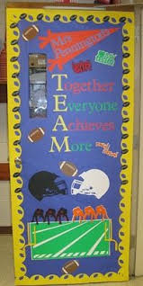 New Year Classroom Decorations by Best 25 Team Theme Ideas On Pinterest Teamwork Bulletin Boards
