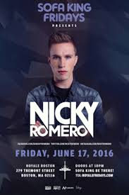 buy tickets and tables to sofa king fridays nicky romero at royale