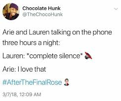 Talking On The Phone Meme - dopl3r com memes chocolate hunk thechocohunk arie and lauren