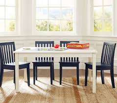 Dining Table Chairs Set Carolina Large Table U0026 4 Chairs Set Pottery Barn Kids