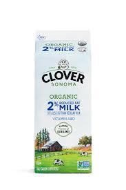 local organic whole milk clover sonoma