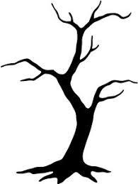 free tree stencils black tree clip vector clip