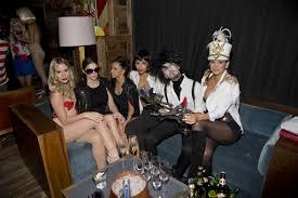 christa b allen at matthew morrison u0027s halloween masquerade ball in