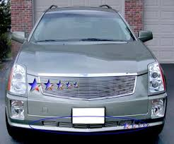 cadillac 2005 srx cadillac srx 2005 2009 polished aluminum lower bumper billet
