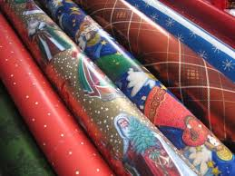 recyclable wrapping paper in the morning bows glitter ribbon are not recyclable
