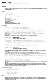 Tennis Coach Resume Sample Resume Standards 2013 Virtren Com