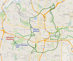 Map Atlanta by Atlanta Beltline U2014 Hampton Preserve