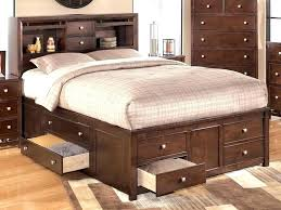 storage bed with trundle sleigh trundle bed kids storage beds at