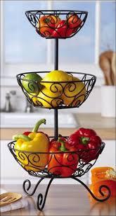 fruit basket stand kitchen 3 tier fruit basket chrome vegetable basket stand 3 tier