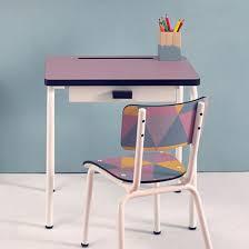 bureau d ecolier bureau d écolier 3 6 ans avec tiroir en formica régine les gambettes