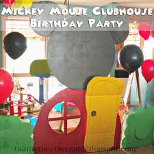 mickey mouse clubhouse party taking time to create mickey mouse clubhouse birthday party lots