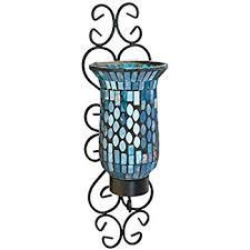 Mosaic Wall Sconce American Atelier Mosaic Glass And Metal Wall Lighting