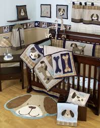 Puppy Crib Bedding Sets Sumersault Show Doggies Baby Bedding Collection Baby Bedding And