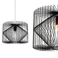 Lampen Wohnzimmer Planen Lux Pro Deckenleuchte Schwarz Metall Pendelleuchte Gitter