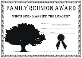 family reunion certificates tree 23 is a free cakepins