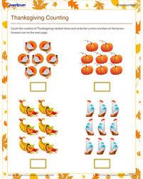 free printable thanksgiving math worksheets worksheets