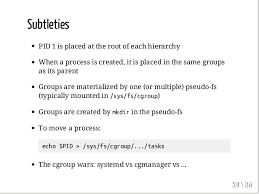 What Is The Square Root Of 1000 Anatomy Of A Container Namespaces Cgroups U0026 Some Filesystem Magic U2026