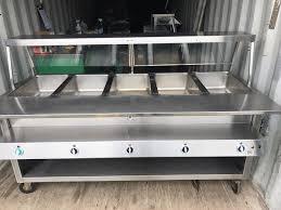 duke gas steam table duke thermaduke 5 well steam table business equipment in mount