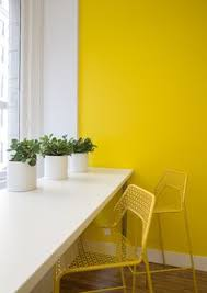 Yellow Accent Wall This U0027n That Home Office Desks Chairs Coco Kelley Coco