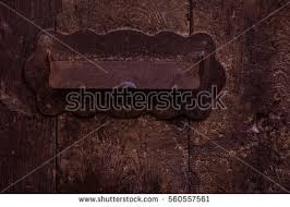 Rustic Iron Mail Slot Outdoor - rustic mailbox stock images royalty free images u0026 vectors