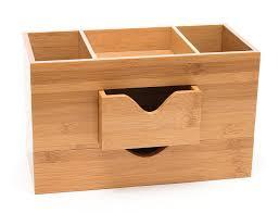 Bamboo Desk Organizer Lipper International 1803 Bamboo Wood 3 Tier Desk And