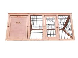 Large Rabbit Hutch With Run Triangle Portable Rabbit Hutch Cover Available Charles Bentley
