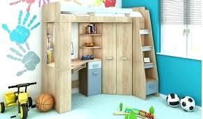 bureau armoire lit combine mezzanine lit combine lit multifonction momo gris et
