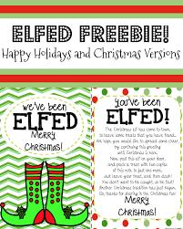 you u0027ve been elfed elf fun elf printable holiday activities for