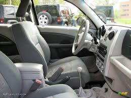 pastel slate gray interior 2006 chrysler pt cruiser standard pt
